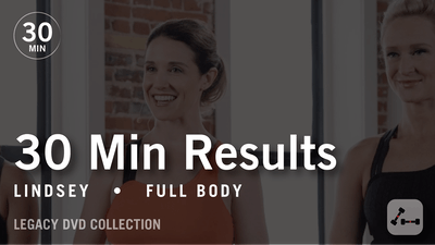 30 Min Results with Lindsey: Full Body  |  Legacy DVD Collection by Pure Barre On Demand