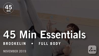 45 Min Essentials with Brookelin | November 2019 by Pure Barre On Demand