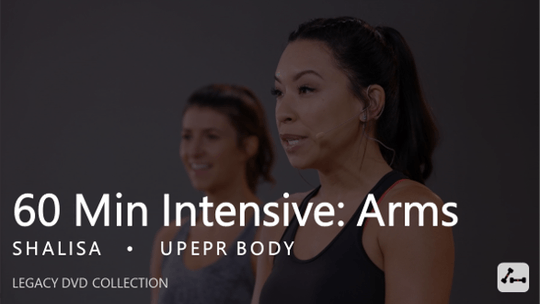 Instant Access to 60 Min Intensive with Shalisa  |  Arms by Pure Barre On Demand, powered by Intelivideo