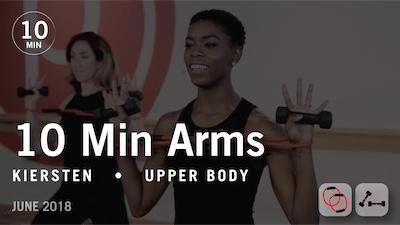 Instant Access to Tone in 10 with Kiersten: Arms  |  June 2018 by Pure Barre On Demand, powered by Intelivideo