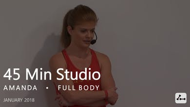 45 Min Studio with Amanda  |  January by Pure Barre On Demand
