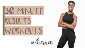 30 Min Results Workouts with Kiersten by Pure Barre On Demand