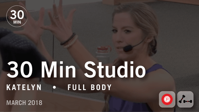 30 Min Studio with Katelyn: Full Body  |  March 2018 by Pure Barre On Demand