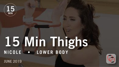 15 Min Thighs with Nicole  |  June 2019 by Pure Barre On Demand