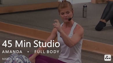45 Min Studio with Amanda  |  March by Pure Barre On Demand
