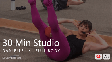 30 Min Studio with Danielle  |  December by Pure Barre On Demand