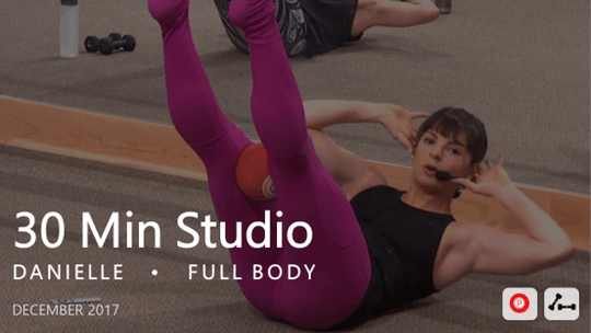 Instant Access to 30 Min Studio with Danielle  |  December by Pure Barre On Demand, powered by Intelivideo
