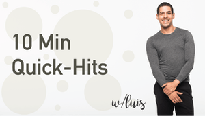 Instant Access to 10 Min Quick Hits with Luis by Pure Barre On Demand, powered by Intelivideo