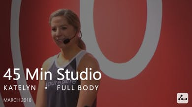 45 Min Studio with Katelyn  |  March by Pure Barre On Demand