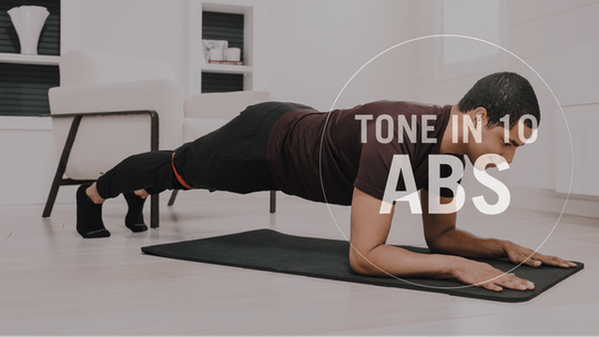 Tone in 10: Abs by Pure Barre On Demand, powered by Intelivideo