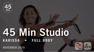45 Min Studio with Karissa: Full Body  |  November 2018 by Pure Barre On Demand
