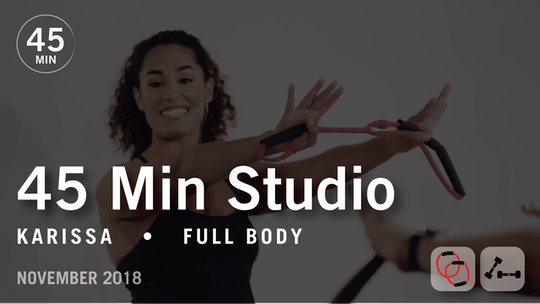 Instant Access to 45 Min Studio with Karissa: Full Body  |  November 2018 by Pure Barre On Demand, powered by Intelivideo