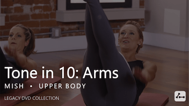 Tone in 10: Arms by Pure Barre On Demand