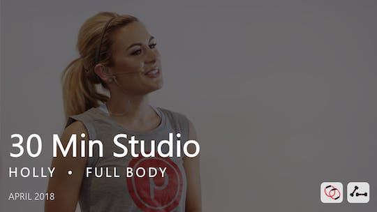 Instant Access to 30 Min Studio with Holly  |  April by Pure Barre On Demand, powered by Intelivideo