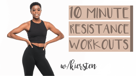 10 Minute Resistance Workouts with Kiersten by Pure Barre On Demand