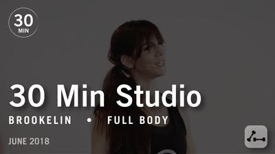Instant Access to 30 Min Studio with Brookelin: Full Body  |  June 2018 by Pure Barre On Demand, powered by Intelivideo