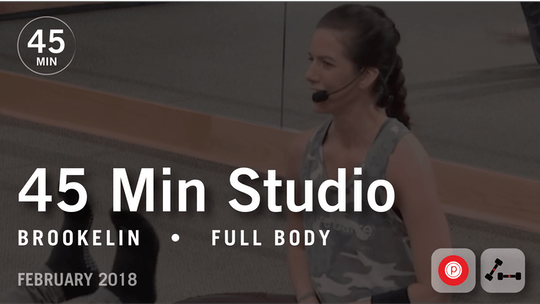 Instant Access to 45 Min Studio with Brookelin: Full Body  |  February 2018 by Pure Barre On Demand, powered by Intelivideo