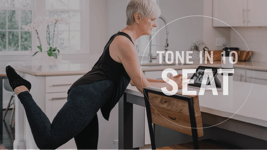 Tone in 10: Seat by Pure Barre On Demand, powered by Intelivideo