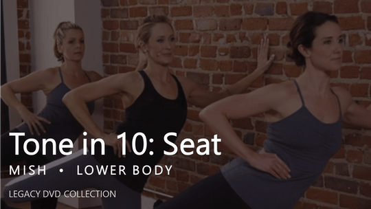 Instant Access to Tone in 10: Seat by Pure Barre On Demand, powered by Intelivideo