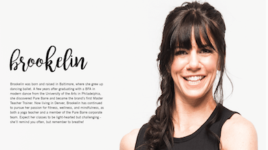 About Brookelin by Pure Barre On Demand