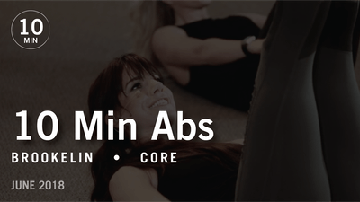 Instant Access to Tone in 10 with Brookelin: Abs |  June 2018 by Pure Barre On Demand, powered by Intelivideo