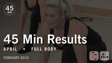 45 Min Results with April: Full Body  |  February 2019 by Pure Barre On Demand