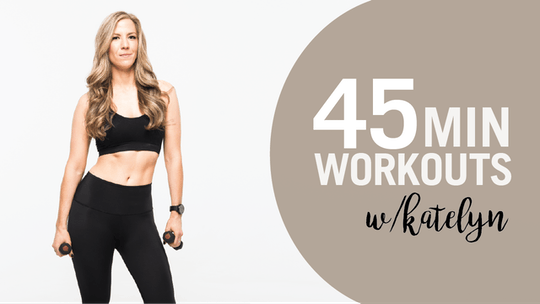 45 Min Workouts with Katelyn by Pure Barre On Demand, powered by Intelivideo