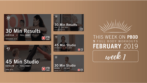 Instant Access to February 2019  |  Week 1 by Pure Barre On Demand, powered by Intelivideo