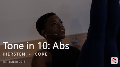 Tone in 10: Abs  |  September by Pure Barre On Demand