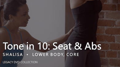 Tone in 10: Seat & Abs by Pure Barre On Demand