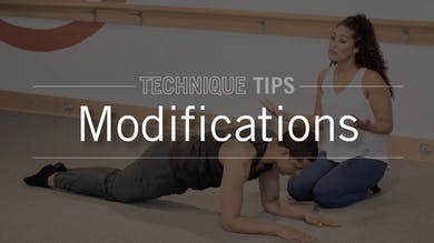 Technique Tips: Modifications by Pure Barre On Demand
