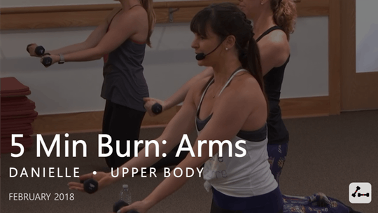 Instant Access to 5 Min Burn: Arms  |  February by Pure Barre On Demand, powered by Intelivideo
