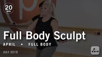Sculpt in 20 with April: Full Body  |  July 2019 by Pure Barre On Demand