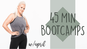 45 Min Bootcamps with April by Pure Barre On Demand