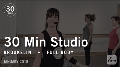30 Min Studio with Brookelin: Full Body  |  January 2018 by Pure Barre On Demand
