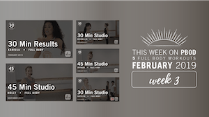 Instant Access to February 2019  |  Week 3 by Pure Barre On Demand, powered by Intelivideo