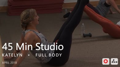45 Min Studio with Katelyn  |  April by Pure Barre On Demand