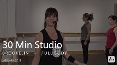 30 Min Studio with Brookelin  |  January by Pure Barre On Demand