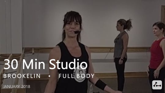 Instant Access to 30 Min Studio with Brookelin  |  January by Pure Barre On Demand, powered by Intelivideo