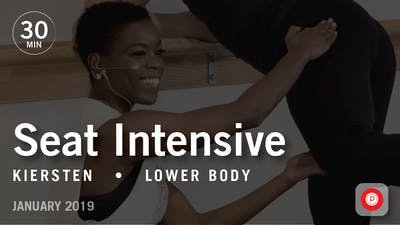 Instant Access to 30 Min Intensive with Kiersten: Seat  |  January 2019 by Pure Barre On Demand, powered by Intelivideo