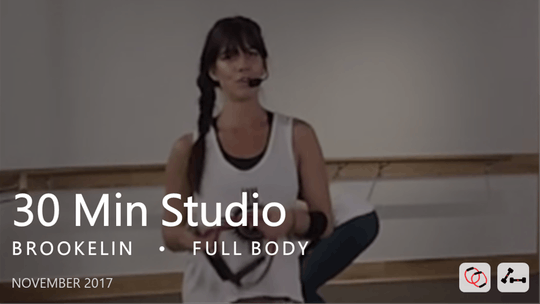 Instant Access to 30 Min Studio with Brookelin  |  November by Pure Barre On Demand, powered by Intelivideo