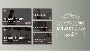 Instant Access to January 2019  |  Week 1 by Pure Barre On Demand, powered by Intelivideo