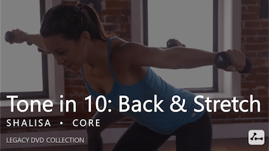 Tone in 10: Back & Stretch by Pure Barre On Demand