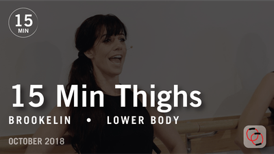 15 Min Flex with Brookelin: Thighs  |  October 2018 by Pure Barre On Demand