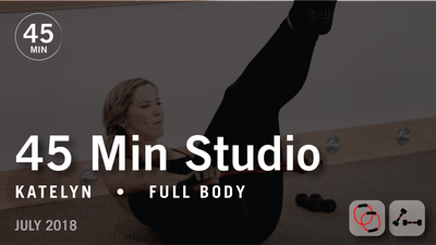 45 Min Studio with Katelyn: Full Body  |  July 2018 by Pure Barre On Demand