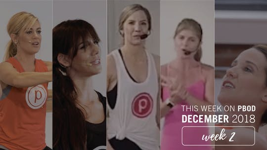 December  |  Week 2 by Pure Barre On Demand