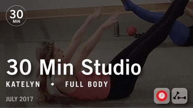 30 Min Studio with Katelyn: Full Body  |  July 2017 by Pure Barre On Demand