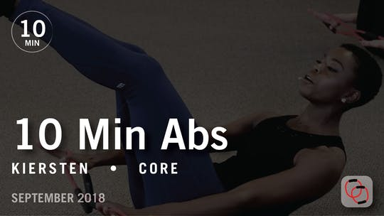 Instant Access to Tone in 10 with Kiersten: Abs  |  September 2018 by Pure Barre On Demand, powered by Intelivideo