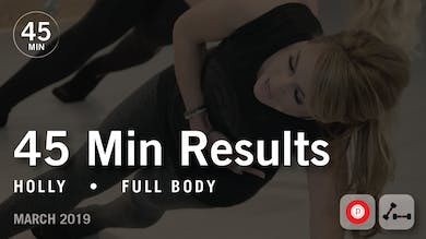 45 Min Results with Holly: Full Body  |  March 2019 by Pure Barre On Demand