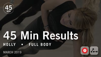 Instant Access to 45 Min Results with Holly: Full Body  |  March 2019 by Pure Barre On Demand, powered by Intelivideo
